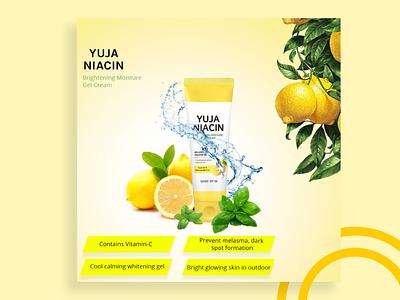 Yuja Niachin Product Banner banner advertising branding product design social media banner