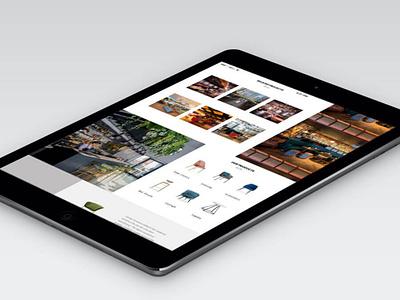 Furntiure project concept digital design web development web design