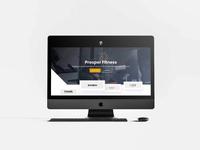 Fitness Coaching Plaform responsive web development web design