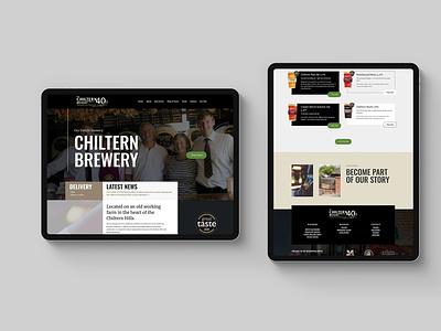 Brewery Website Concepts concepts web responsive web development web design