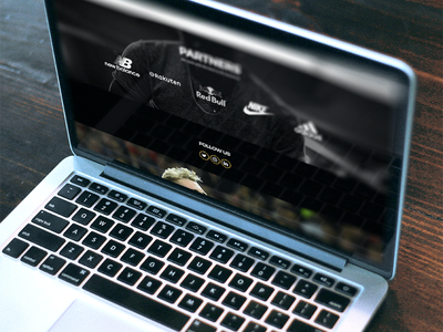 Sports agent design and development project concept development website design
