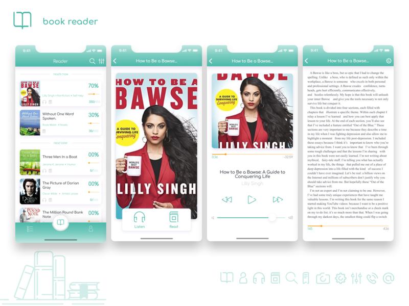 Bookworm users interface design uxui ux ui