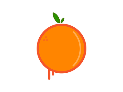orange vector by donovan veeley dribbble rh dribbble com background vector orange orange vector logo