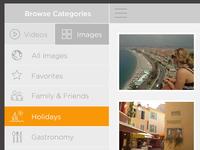 Photo Viewer App (iPad)