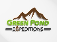 Green Pond Expeditions Logo Design