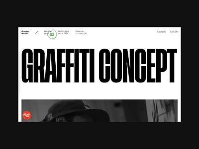 Gustavo Nenão's Website desktop design ui design site