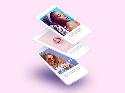 Beooty ios app mobile design ui