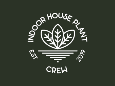 House plant badge