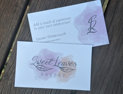 Sweet Leaves Business Cards