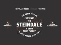 Steindale - Vintage San-Serif
