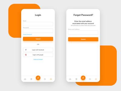Login - Forgot password