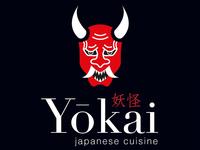 Oni logo for restaurant Yokai