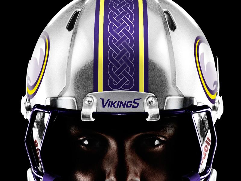 Minnesota Vikings Helmet uniform design striping sports logos sports logo  brand identity football helmet design vikings b5690132b
