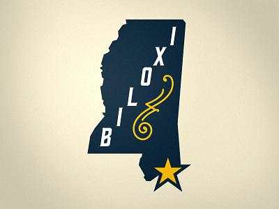 Biloxi Bluegrass Secondary Mark bluegrass biloxi sports logo sports monogram b banjo branding brand logo sphl hockey