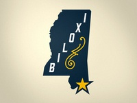 Biloxi Bluegrass Secondary Mark
