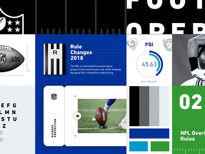 NFL Football Operations Style Guide nfl football graphic  design visual guidelines style guides publications graphic design layout branding visual  identity communications