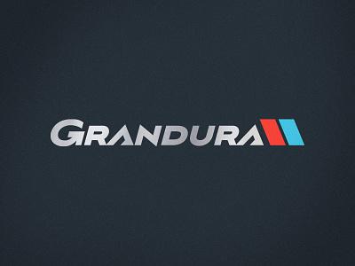 Grandura Performance Golf Shafts grandura sporting goods golf sports branding brand logotype branding brand identity logo mark sports logos logo sports logo