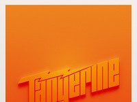 Tangerine poster 02