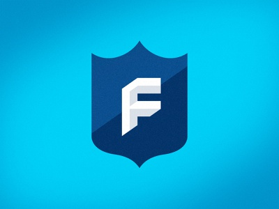 NFL Fantasy Football Brand ID fantasy football fantasy monogram brand logotype branding football brand identity logo mark sports logos logo sports logo