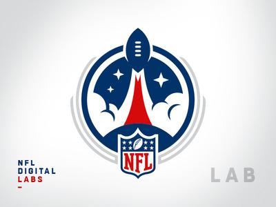 NFL Internal Team Sigil - Digital Labs crest sigil team department league digital nfl sports branding brand logotype branding football brand identity logo mark logo sports logo