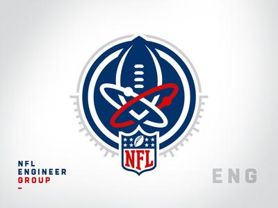 NFL Internal Team Logos - Engineer Group