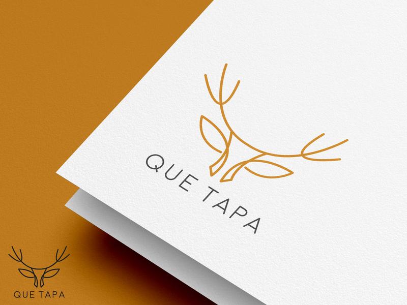 QUE TAPE Logo design by Graphicever graphicever logotype graphicdesign logomaker typography logomark brandmark best simple logoinspiration branding logodesigner vector identity designer design illustrator icon logos logo