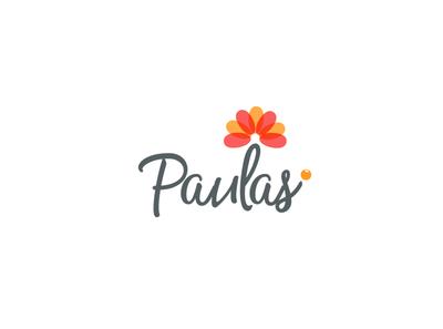 Paulas Logo Design graphicever logotype graphicdesign logomaker typography logomark brandmark best simple logoinspiration branding logodesigner vector identity designer design illustrator icon logos logo