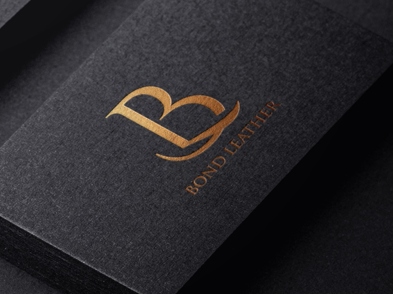 Bond Leather Logo Design