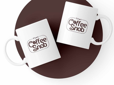 Coffee Snob graphicever logotype graphicdesign logomaker typography logomark brandmark best simple logoinspiration branding logodesigner vector identity designer design illustrator icon logos logo