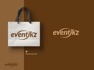 Eventikz - Logo Design graphicever logotype graphicdesign logomaker typography logomark brandmark best simple logoinspiration branding logodesigner vector identity designer design illustrator icon logos logo