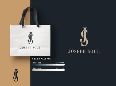 Joseph Soul   Logo Design graphicever logotype graphicdesign logomaker typography logomark brandmark best simple logoinspiration branding logodesigner vector identity designer design illustrator icon logos logo