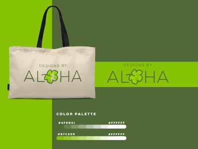 Aloha   Logo Design graphicever logotype graphicdesign logomaker typography logomark brandmark best simple logoinspiration branding logodesigner vector identity designer design illustrator icon logos logo