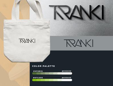 Tranki   Logo Design graphicever logotype graphicdesign logomaker typography logomark brandmark best simple logoinspiration branding logodesigner vector identity designer design illustrator icon logos logo