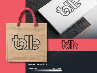 Tolle   Logo Design graphicever logotype graphicdesign logomaker typography logomark brandmark best simple logoinspiration branding logodesigner vector identity designer design illustrator icon logos logo