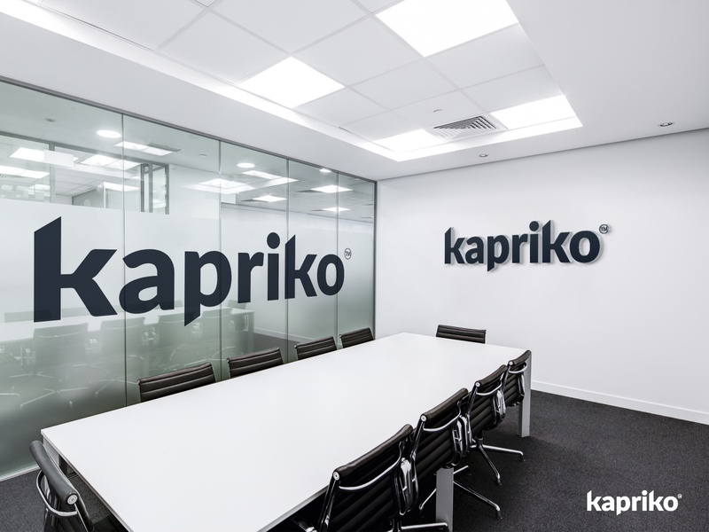 Kapriko   Logo Design graphicdesigner illustration flat minimal graphicever graphicdesign icon design vector logo