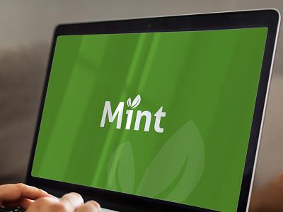 Mint Logo branding illustration minimal graphicever graphicdesign icon design vector logo