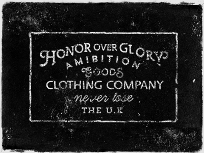 Honor Over Glory honor over glory clothing