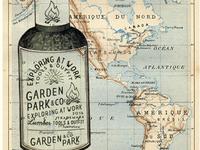 Garden Park - Vintage mockup