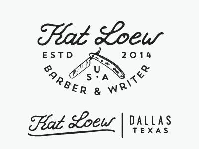 Kat Loew - Barber barber razor kat