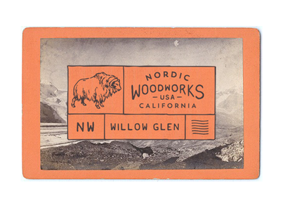 Nordic Woodworks willo glen vintage