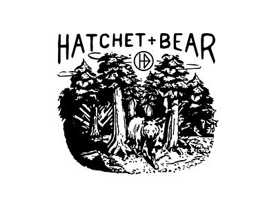 Hatchet + bear