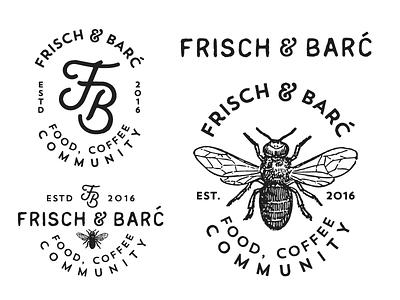 Frisch & Barc logotype monogram fb