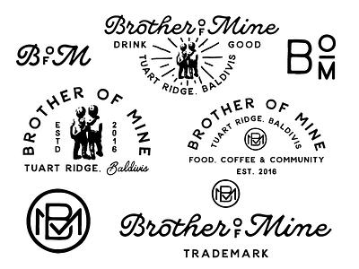 Brother of Mine monogram logo concepts