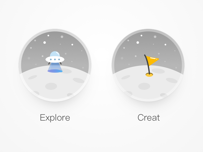 Explore & Creat icon