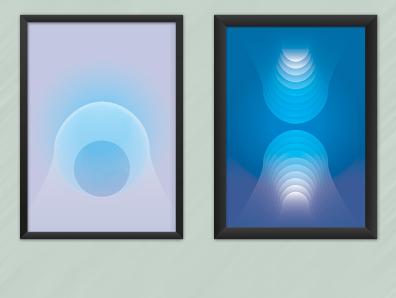 Fantasmas geometric geometry pattern design vector minimal illustration digital