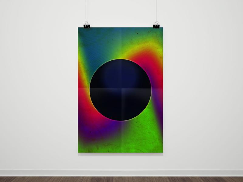 Hawking geometric geometry vector minimal illustration digital