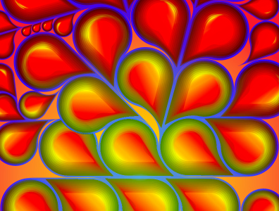 Giallo blu e rosso geometry geometric colour color geometry vector design minimal illustration digital