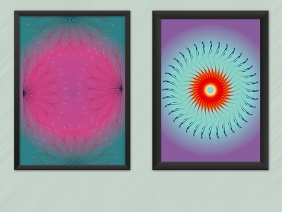 Rotazioni geometric illustration geometrical geometric design mandala geometric geometry vector design illustration digital