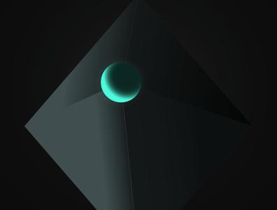 Solidos (huecos) geometry vector design minimal illustration digital