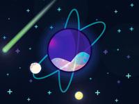 Planets et moons